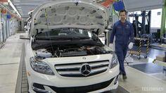 Mercedes-Benz B-Class Electric Drive Production
