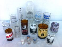 Recycled Bottle Drinking Glasses from Recycled Bottle Products