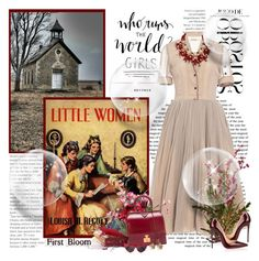 """Little woman...."" by purplecherryblossom ❤ liked on Polyvore featuring Natasha Zinko, Christian Louboutin, Hermès, Allurez, Yves Saint Laurent and Valentino"