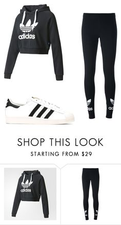"""adidas"" by angel13-eri ❤ liked on Polyvore featuring adidas and adidas Originals"