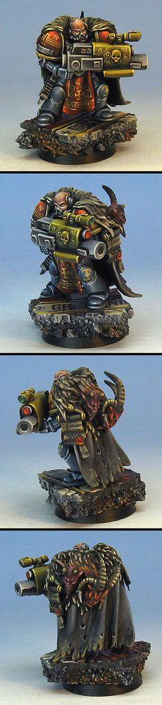 Warhammer 40k Grey Knight with psycannon