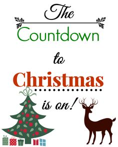 Easy Countdown to Christmas Garland Diy Christmas Garland, Easy Christmas Crafts, Christmas Plates, Simple Christmas, Countdown Until Christmas, Days Until Christmas, Paper Chains, Mason Jar Crafts, Coordinating Colors
