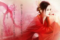 Asian fantasy art and illustration Hanfu, wuxia, legend of five rings, and martial arts themed artwork Portrait chinese style by ANG-angg.deviantart.com on @deviantART