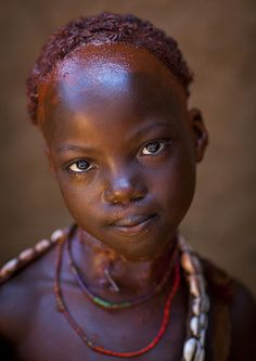 Hamer Tribe Girl, Turmi, Omo Valley, Ethiopia by Eric Lafforgue via flickr