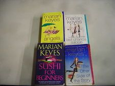 4 MARIAN KEYES ANGELS OTHER SIDE STORY LAST CHANCE SALOON SUSHI BEGINNERS pb lot
