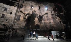 Avignon theatre festival: Actors rehearse The Master and Margarita