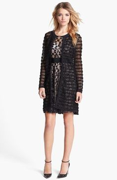 Milly Lace Coat: OK, so not exactly a weather-beater, but we can't resist this lacy layer nevertheless