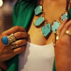 something that will always be timeless to me  Turquoise jewelry