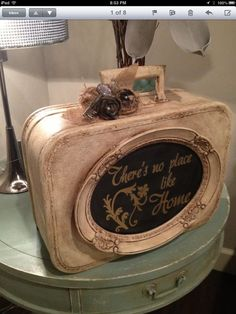 Image result for chalk painted thrift store items for wall decor