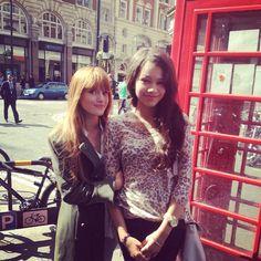 Mundo Fanmania: Bella Thorne y Zendaya Coleman se encuentran en ...
