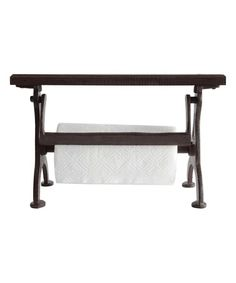 Another great find on #zulily! Brown Cast Iron Paper Towel Holder #zulilyfinds