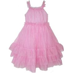 Girls Pink Princess Spring Holiday Dress summer clothes « Clothing Impulse