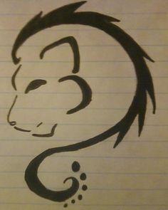 tribal leo lion tattoo design (even has leo zodiac symbol)!!!