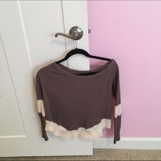 Free People Inspired Long Sleeve Top Free people INSPIRED (Not free people) Long Sleeve Top! Very cute! Price is firm and open to trades! Free People Tops Tees - Long Sleeve
