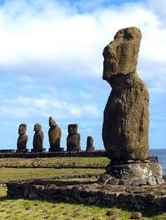 Rapa Nui National Park, Easter Island.