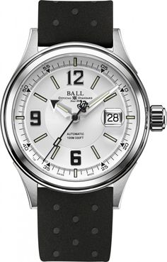 Ball Watch | Fireman Racer - Model NM2088C-P2J-WHBK