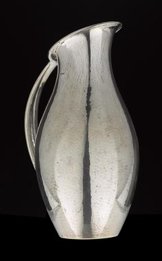 Silver pitcher or jug, model designed by Johan Rohde in Danish, by Georg Jensen (c. Call For Entry, New Art, Danish, Model, Silver, Design, Danish Pastries, Scale Model