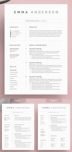 27 Simple & Clean CV / Resume Templates with Cover Letters Word Resume & Cover Letter Mise En Page Portfolio, Portfolio Web, Portfolio Resume, Modern Resume Template, Resume Template Free, Professional Cv Template Free, Free Design Templates, Free Creative Resume Templates, Professional Resume Design