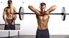 Un exercice très efficace pour se muscler les épaules avec des haltères