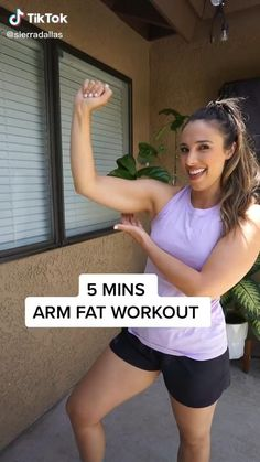 5 Min Arm Workout, Gym Workout Tips, Fitness Workout For Women, At Home Workout Plan, Workout Challenge, Easy Workouts, Gym Workout For Beginners, Fitness Diet, At Home Workouts
