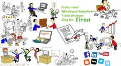 create engaging custom whiteboard animation video or explainer video Whiteboard Video, Whiteboard Animation, Advertise Your Business, Animated Gif, Arch, Coding, Create, Drawings, Projects