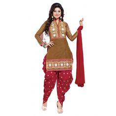Ledis patiala suits salwar suits embroidery work