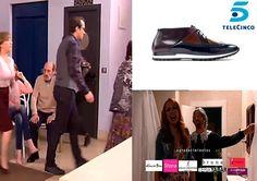 En el capítulo de ayer de la serie #LaQueSeAvecina, el actor Luis Merlo con #zapatos de Angel Infantes.