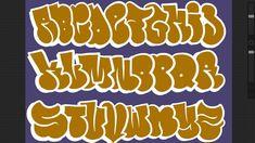 How To Draw Graffiti Alphabet Throwies How To Draw Bubble Letters Images Graffiti, Graffiti Words, Graffiti Writing, Graffiti Styles, Street Art Graffiti, Graffiti Alphabet Fonts, Graffiti Lettering Fonts, Calligraphy Alphabet, Islamic Calligraphy