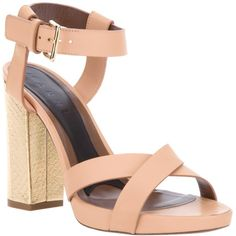 MARNI Block heel sandal found on Polyvore