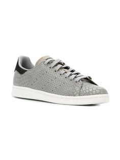 Adidas Stan Smith gray python skin effect sneaker