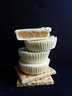 No-Bake White Chocolate Pumpkin Pie Cups