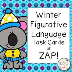 Task cards are popular in many elementary and middle school classrooms. Easily adapted to any content area and grade level, task card makes for a welcome change from just completing a worksheet for skill practice. These 24 task cards (22 skill cards and two ZAP cards) may be used in a literacy center, as part of a scavenger