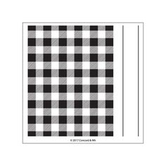 Plaid Background - Concord & 9th