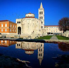 #CroatiaFullOfLife by @niramzd  #Zadar #Reflection #besteuropedestination #Travel #Holiday #Vacation #Europe #bestoftheday #Croatia #Europe #EuropeTrip #architecture #Culture #History #MustVisit #colours #VisitZadar by croatiafulloflife