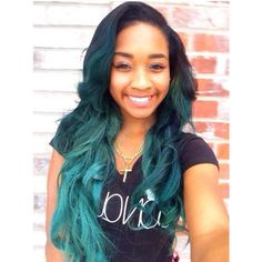 Ombre Hair Color for Black Women (75)