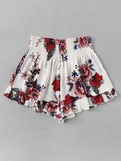 To find out about the Plus Floral Print Elastic Waist Shorts at SHEIN, part of our latest Plus Size Shorts ready to shop online today! Plus Size Dresses, Plus Size Outfits, Short Dresses, Girls Dresses, Peplum Dresses, Hippie Dresses, Dresses Uk, Evening Dresses, Tokyo Street Fashion
