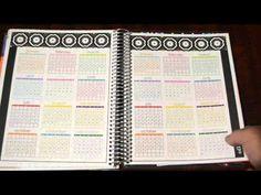 2014-2015 Erin Condren Life Planner Unboxing and Walk Through // #RevelryAndRefinery