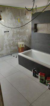 Haus Bilderthread - Zeigt her eure Hausbilder!Seite 962 | Erfahrungen von Bauherren und Bauexperten Carports, Bad, Bathtub, Bathroom, Build House, Tile, Pictures, Standing Bath, Washroom