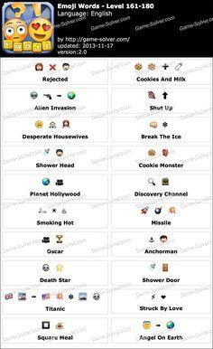 Emoji Words Level 81-100   Games   Pinterest   Emoji words and Words
