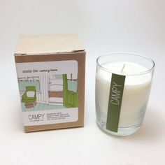 8oz Soy Candle Coming Home by CampyHome
