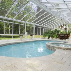 Suburban Sunrooms on Instagram: It's March and you still get to enjoy the pool!