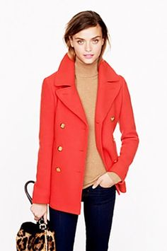 JCrew_$298_JCrew  Love the trench!