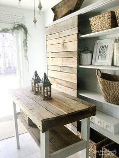 Farm House Charm - Dining Room Space