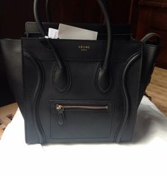 where can i buy a celine handbag - Celine Micro Luggage In Textile (2015) Multi Colors Tote Bag ...