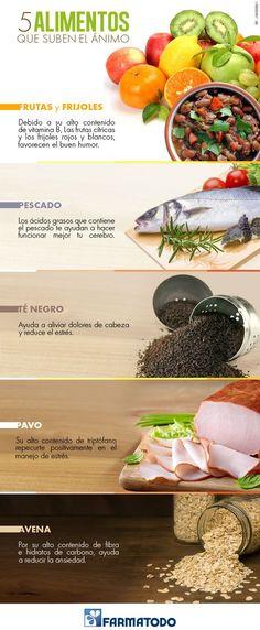 Siéntete siempre alegre consumiendo estos 5 alimentos