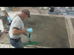 Acid stain for concrete is a coloring product that works by penetrating the surface and reacting chemically with the concrete. Discover the pros and cons of using concrete acid stain. Stamped Concrete Driveway, Concrete Steps, Concrete Driveways, Concrete Patio, Acid Stained Concrete Floors, Stain Concrete, Concrete Resurfacing, Concrete Finishes, Cement