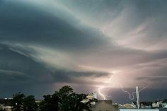 sky. lightning.