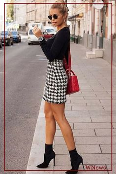 Fantastic Summer Outfits To Copy Now schwarzes langärmeliges hemd. Winter Skirt Outfit, Fall Winter Outfits, Autumn Winter Fashion, Spring Outfits, Dress Winter, Outfit Summer, Classy Outfits, Casual Outfits, Cute Outfits