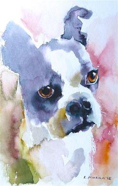 "Daily+Paintworks+-+""adopt163""+-+Original+Fine+Art+for+Sale+-+©+Katya+Minkina"