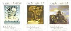 Etiquetas de Bodegas Altanza. La Rioja obras de Salvador Dalí